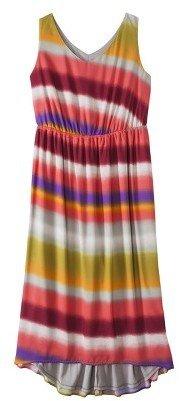 Women's Plus Size Sleeveless Maxi Dress Coral
