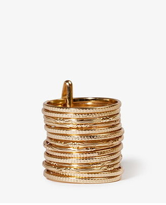 Forever 21 Stackable Metal Ring Set