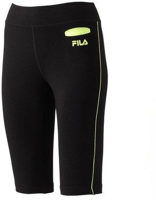 Fila sport ® endurance piped bermuda performance shorts - women's