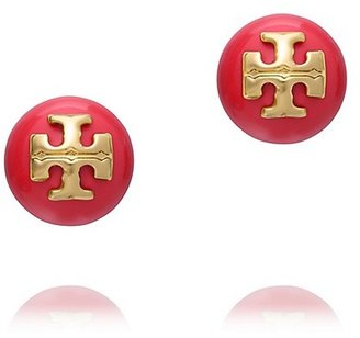 Tory Burch Colorful Evie Pearl Stud Earring