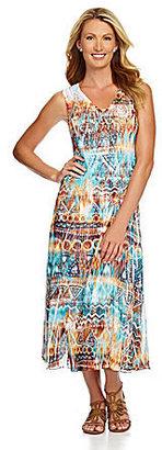 Reba Sublimation-Print Maxi Dress