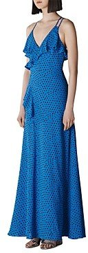 Whistles Lunar-Phase Printed Gown