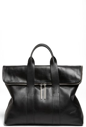 3.1 Phillip Lim '31 Hour' Leather Tote - Black