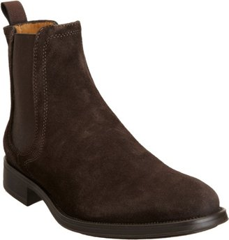 Barneys New York CO-OP Suede Plain Toe Chelsea Boot