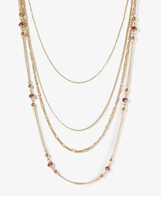 Forever 21 Layered Multi-Chain Necklace