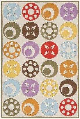 Momeni Lil Mo Whimsy Circles, 2 x 3