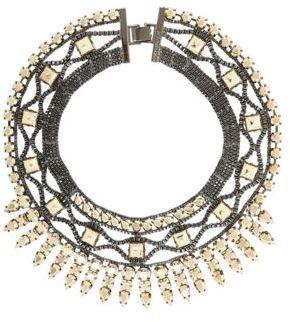 BCBGMAXAZRIA Heavy-Metal Spike Necklace