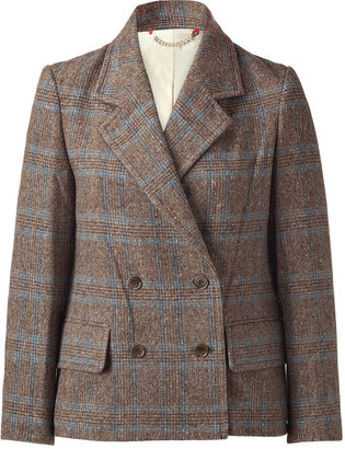 Marc by Marc Jacobs The Beatrice Brown Tweed Jacket