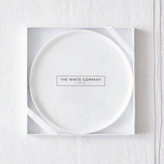 The White Company Ceramic Large Botanical Plate, No Colour, One Size