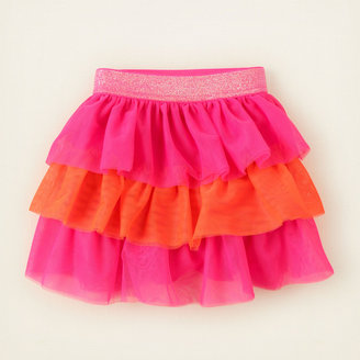 Children's Place Neon mesh tutu