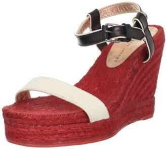 Marc by Marc Jacobs Women's Ankle Strap Open-Toe Colored Espadrille Wedge Sandal