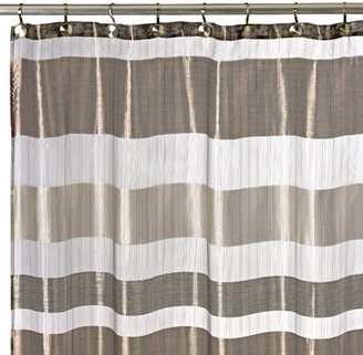 "Bed Bath & Beyond Metallic Stripe 72"" x 72"" Shower Curtain"