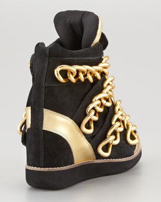 Jeffrey Campbell Suede Almost Sneaker