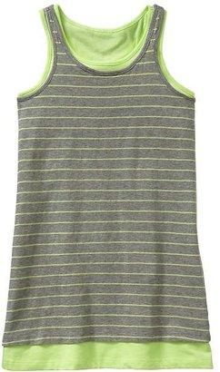 Gap Double layer tank dress