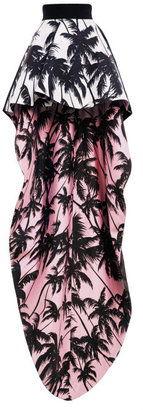 Fausto Puglisi Preorder Contrast Lined Tail Skirt