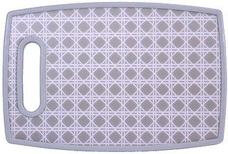 S/2 Gray Lattice Cutting Boards, Small