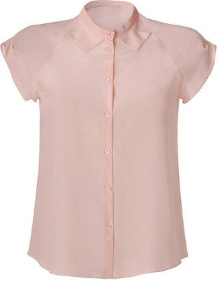 Cacharel Blush Silk Shirt