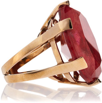 Stephen Dweck Coral Oval Ring