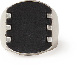 Maison Martin Margiela Line 11 / Metal/Leather Ring