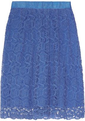 Collette Dinnigan Collette by Portobello cotton-lace skirt
