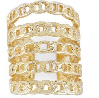 BCBGMAXAZRIA Multi-Chain Ring