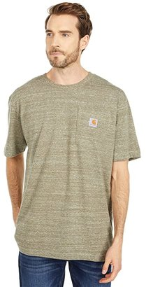 Carhartt Workwear Pocket S/S Tee K87 (Black) Men's T Shirt