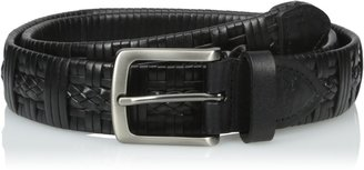 Tommy Bahama Men's Leather Braided Belt