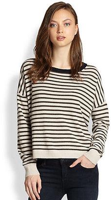 Demy Lee Alexa Striped Cashmere Sweater