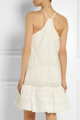 J.Crew Collection broderie anglaise cotton dress