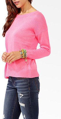 Forever 21 Dropped Shoulder Sweater