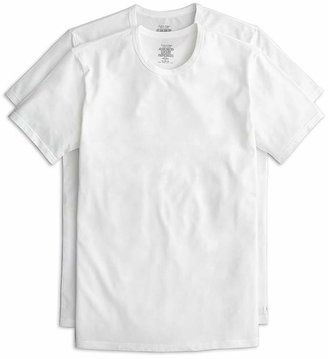 Calvin Klein Cotton Stretch Crew Neck Tee, Pack of 2 $36.50 thestylecure.com