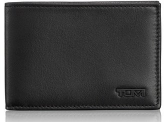 Men's Tumi Delta Id Lock Shielded Slim Single Billfold - Black $85 thestylecure.com