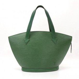 Louis Vuitton very good (VG Green Epi Leather Saint Jacques PM Handbag