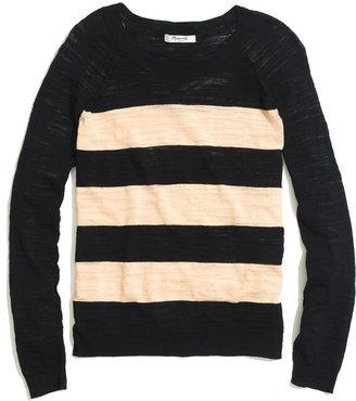 Madewell Wide-Stripe Sweater