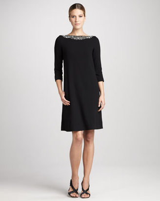 Lafayette 148 New York Alistair Embellished Dress