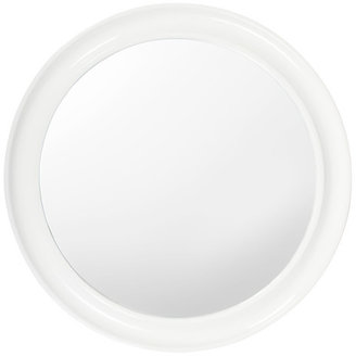 Fab Enamel Mirror Large White