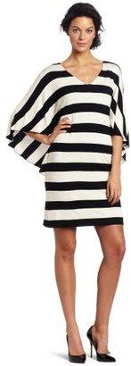 Suzi Chin Women's Flutter Sleeve Dress