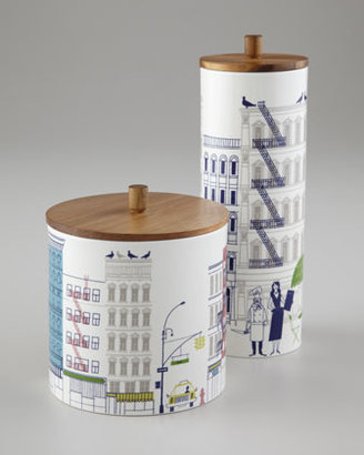 """Kate Spade About Town"""" Canisters"""