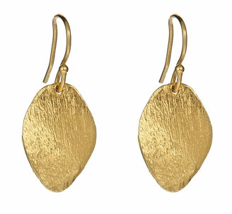 Lisa Stewart Brushed Leaf Earrings