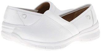 Nurse Mates Libby (White) Women's Clog Shoes
