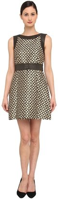 RED Valentino Floral Jacquard and Polka Dot Dre Women' Dre