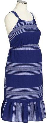 Old Navy Maternity Striped Linen-Blend Sundresses