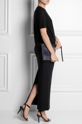Maison Martin Margiela Stretch-crepe maxi skirt