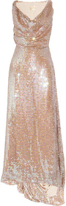 Vivienne Westwood Long Savannah sequined net gown