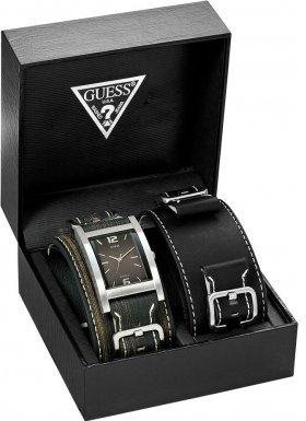 GUESS Men's Watches Trend Gents Leather Strap 75540G1 - 4