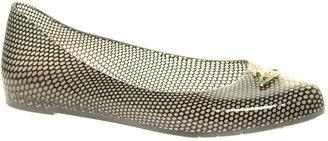 Vivienne Westwood for Melissa Wanting Orb Ballet Flat Shoes