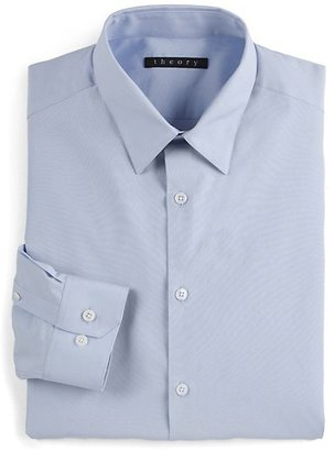 Theory Slim-Fit Dover Sword Dress Shirt
