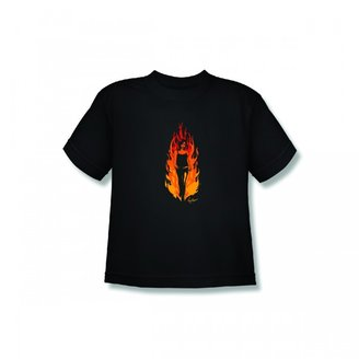 Discovery MythBusters Kari Flames Youth T-Shirt - Black
