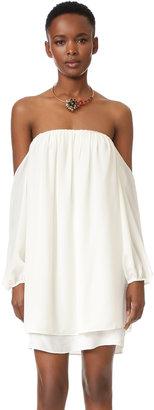 MISA Off the Shoulder Dress $172 thestylecure.com