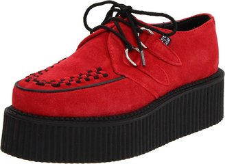 T.U.K. Unisex A8056 Hi Mondo Red/Black Casual Lace Ups A8056 4 UK 38 EU 5 US